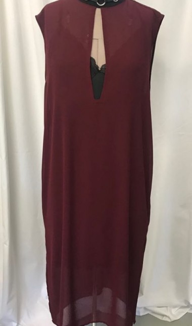 Miss plum throne dress