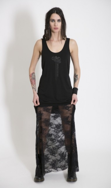 Damsiel Lace Slip Dress