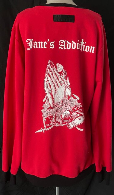 Janes Addiction Red sweatshirt