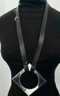 ONE OFF simplistic sterling silver necklace