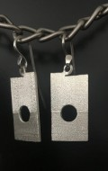 russell sutherland textured earrings