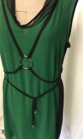 hey jo sleeveless emerald top