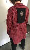 under the influence tartan shirt