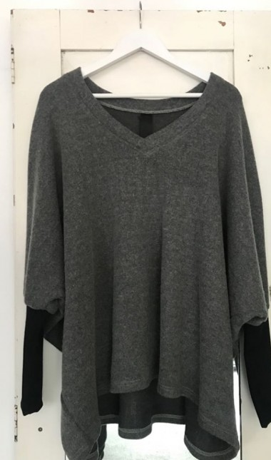 New Dawn wool jersey